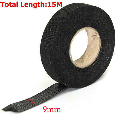 1 Roll Adhesive Cloth Fabric Electrical Wiring Harness Loom Insulation Tape New