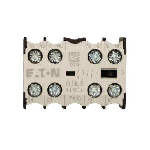 EATON Cutler-Hammer Miniature Contactor -AUXILIARY CONTACT  XTMCXFA13