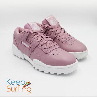 Reebok Workout Ripple Women's Pink Trainers UK 5