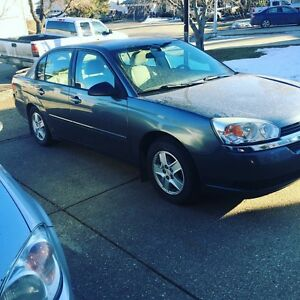2004 Chev Malibu just over 120k for trade!