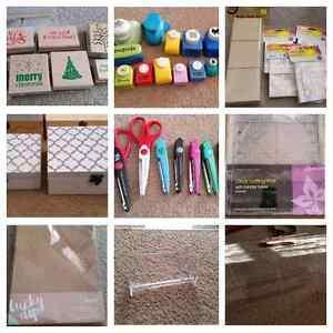 Mixed Scrapbooking Cardmaking craft supplies Beeliar Cockburn Area Preview