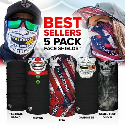 S A Face Shields for Men and Face Shields for Women 5 Pack of Best Multipurpose (Best Pack For Women)