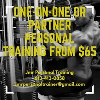 Accepting  Morning Clients  $60 per workout