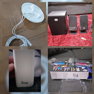 Computer Speakers,  Printer Ink,  Earphones,  Portable Charger