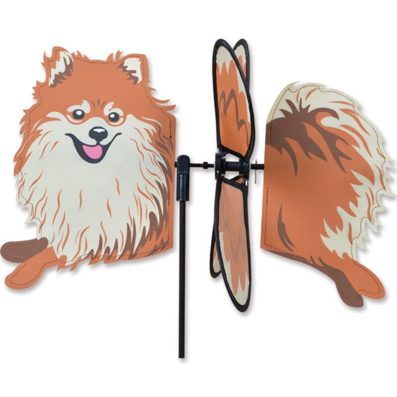 Pomeranian Garden Wind Spinners