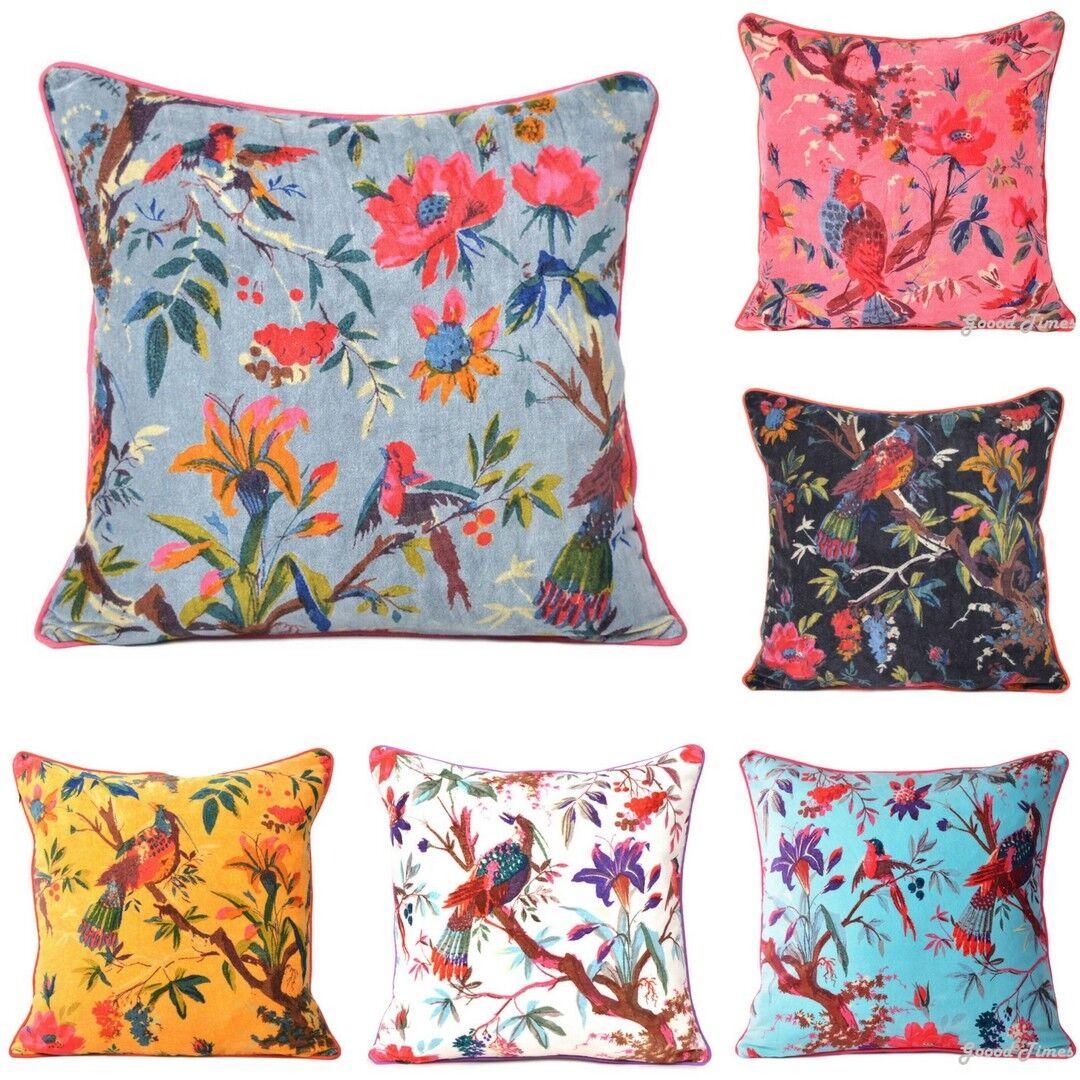 16 x 16 Velvet Throw Cushion Cover Pillow Cases Decorative f