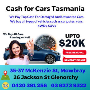 Cash For Cars Glenorchy Glenorchy Area Preview