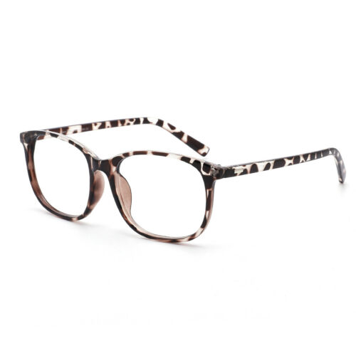 Cyxus Women/Girls Blue Light Blocking Computer Glasses Anti Eyestrain UV Leopard
