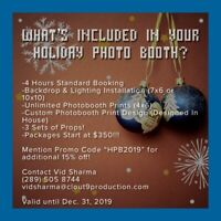 CHEAPEST PHOTO BOOTH PACKAGES!