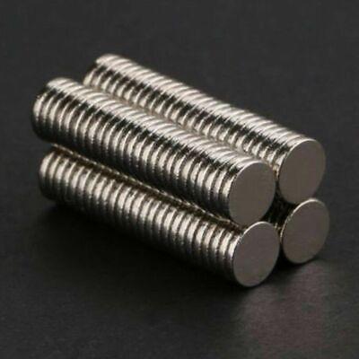 100pcs 5x1mm Neodymium Disc Strong Rare Earth N52 Small Fridge Cylinder Magnets