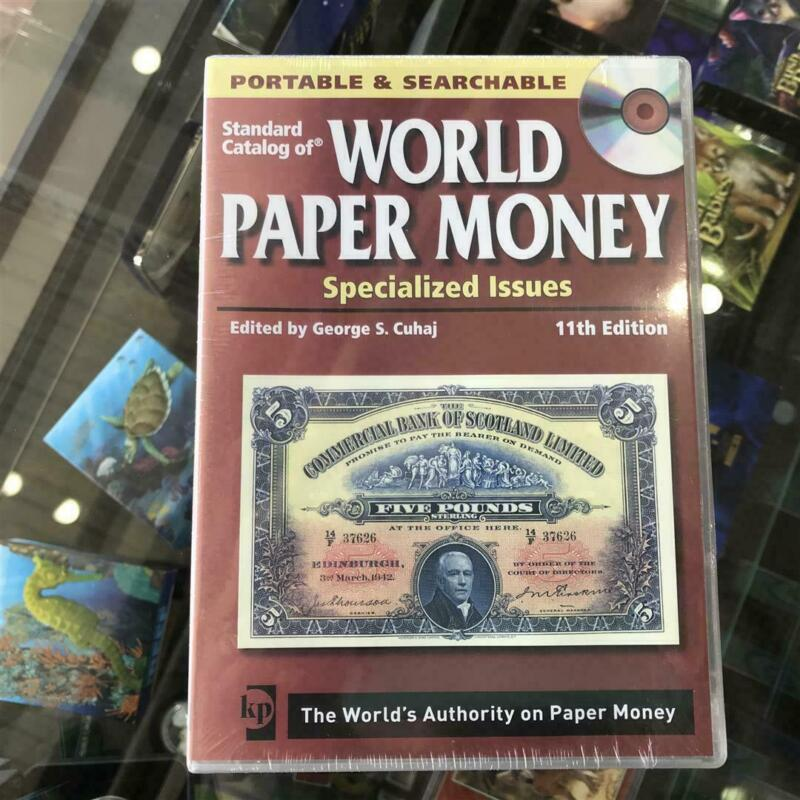 New KRAUSE 11 Edition STANDARD CATALOGUE OF Paper Money CD/DVD