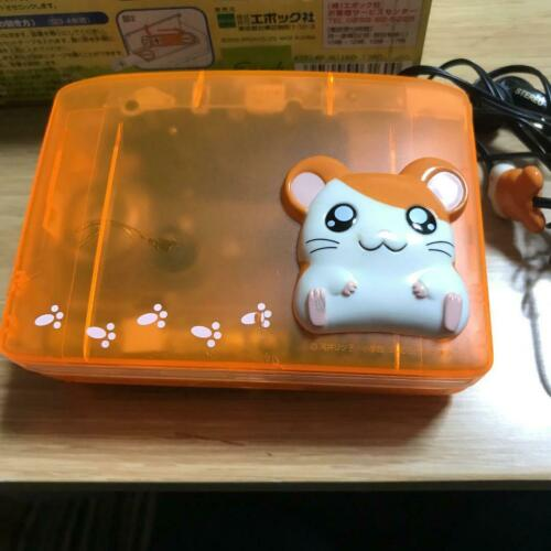 Tottoko Hamtaro hamutaro Very cute face Ham Ham cassette player very rare