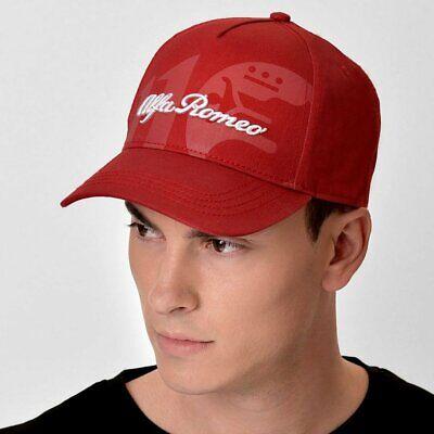 Alfa Romeo 110th Anniversary Classy Baseball Cap Hat Red - Official Merchandise