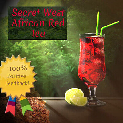 The Red Tea Detox Natural West African tea Rooibos Bush cleanse lose weight loss African Bush Teas Tea