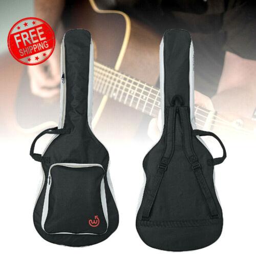 Wayfinder Heavy Duty Padded Acoustic Guitar Case Gig Bag with Backpack Straps