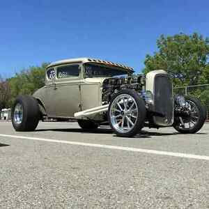 Superb VAPHEAD Swept Front Frame, Hot Rod Old School Rat Rod Low 1928 31 Model