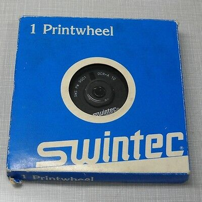 Swintec Sws-pw-9001 Ocr-a 10-pitch Electronic Typewriter Printwheel