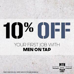 Men On Tap RENOVATIONS & MAINTENANCE 10% off! Kiara Swan Area Preview