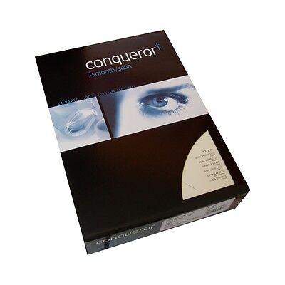 Conqueror CX22 Briefpapier Creme 100 Blatt A4 100g mit Wasserzeichen CX 22