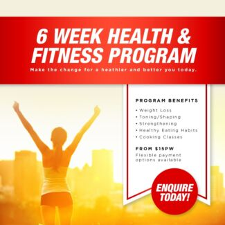 6 week HIIT and Core Yoga class now available at ANU! From $15/wk