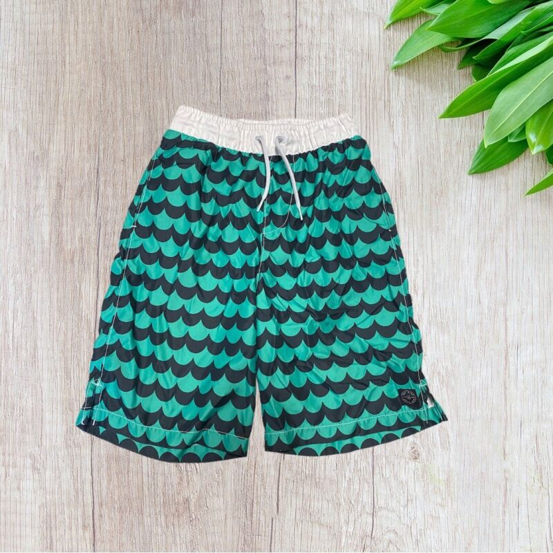 Crewcuts Swim Trunks Size 12 Wave Printed