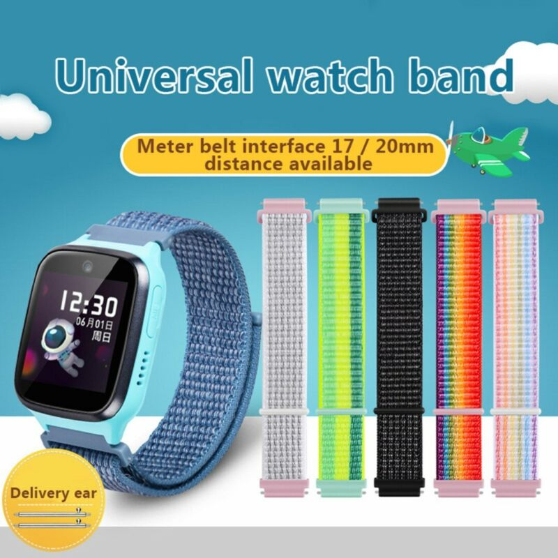 20mm Nylon Cuff Wrist Band Replacement Best For Kids Smart W