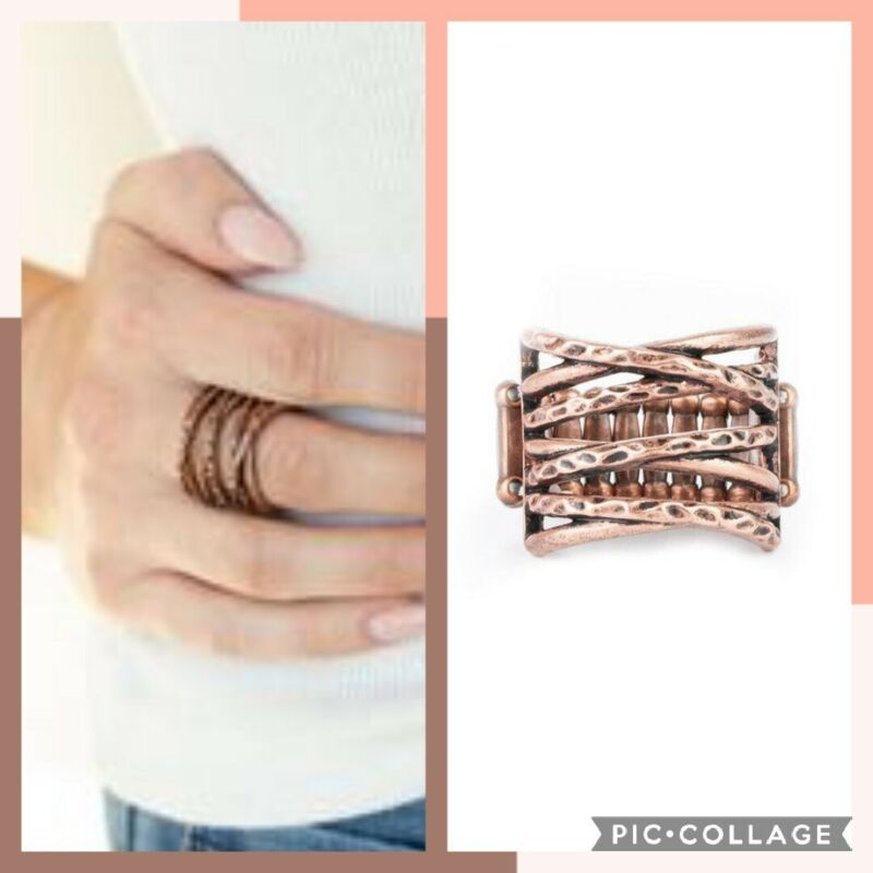 Switch gears copper ring paparazzi