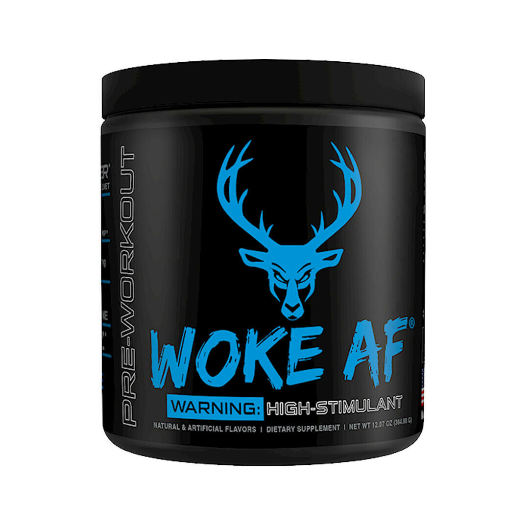 WOKE AF Pre-Workout 30 servings DAS Labs Pick Flavor Fast Free Shipping 1
