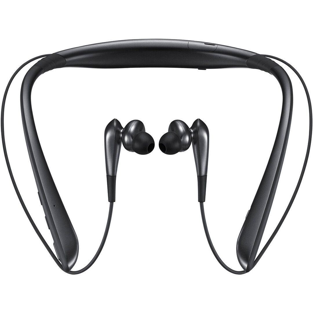 b48b6905343 Samsung Level U Pro UHQ Audio Bluetooth Neckband In-Ear Headphones Black -  White