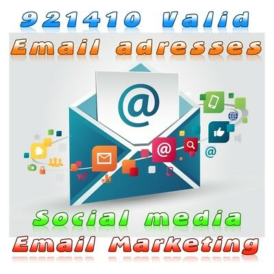 Us Uk Worldwide Social Media Email Adresses Lists Up To 900k Listed By Niche V1