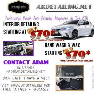Professional Mobile Auto detailing