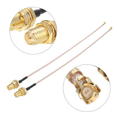 2X 5 9  Rg178 Rp Sma To Ufl U Fl Ipx Ipex Rf Female Adapter Extension Cable 15Cm