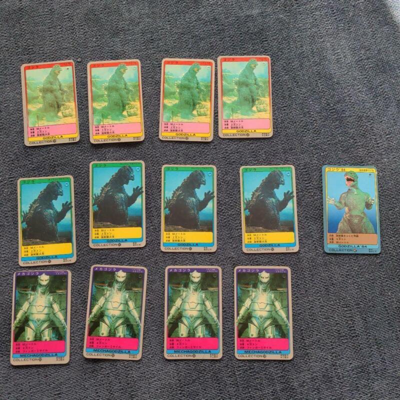 Godzilla Soft Vinyl Tags Card Bandai