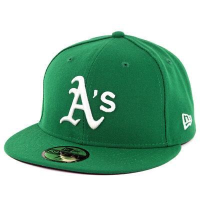 New Era 59Fifty Oakland Athletics ALT Fitted Hat (Green) MLB Cap - Green New Era Hats
