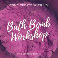 March Break Bath Bomb Workshop