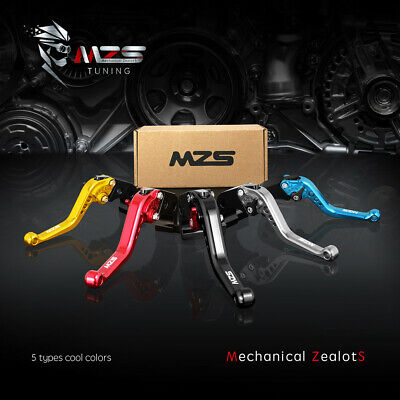 MZS Clutch and Brake Levers Fit Honda CBR600RR 2007-2019 / CBR1000RR 2008-2019 Brake And Clutch Levers