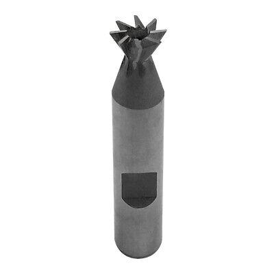 "60 Degree HSS Dovetail Cutter Tool Bit 3/8"" x 3/8"" HSS Milling Lathe"