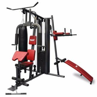 Home Gym NEW Multi station chest press boxing 200LBS weight stack