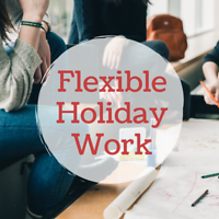 Flexible Student Work! Part-Time / Full-Time / Holiday Positions