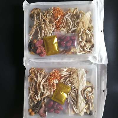 Dried Wild Fungus Mushroom Bag Mixed With 12 Varieties Healthy Tasty Soup Food  Wild Mushroom Soup