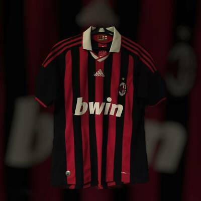 ADIDAS AC Milan Official Football Jersey Soccer Shirt World Cup 2014  Size M image