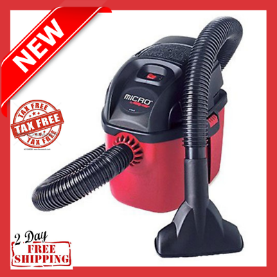 Small Portable Shop Vac Micro Wet Dry Vacuum Hang Up Mini To