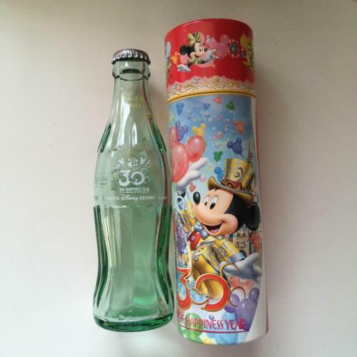 F/S Tokyo Disneyland 30th Anniversary Coca-Cola Empty Bottle (With cap)