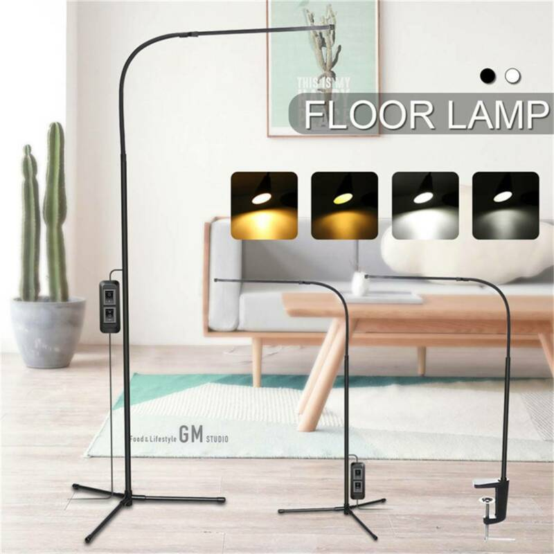 Adjustable LED Floor Lamp Light Standing Reading Dimmable De
