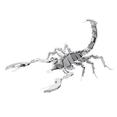 Skorpion Scorpion 3D-Metall-Bausatz Silver-Edition Metal Earth 1070