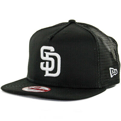 "New Era 950 San Diego Padres ""Trucker Snapback"" Hat  Mens"