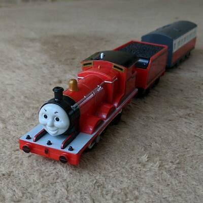 Tomy Plarail Thomas & Friends Talking James Trackmaster Motorized Train Working