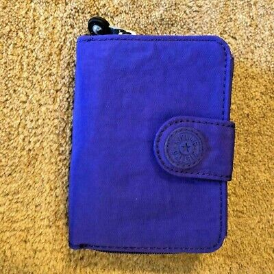Kipling New Money Small Credit Card Wallet - Indigo - $39 msrp