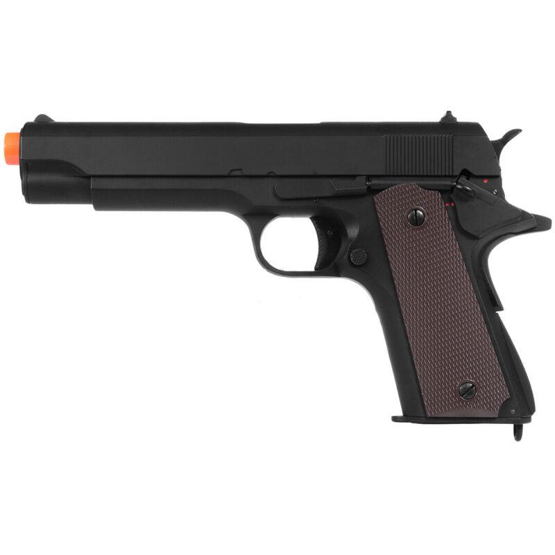 300 FPS CYMA AIRSOFT M1911 METAL ELECTRIC AEG AIRSOFT PISTOL Gun w/ 6mm BB BBs