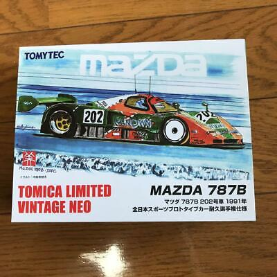 Tomica Limited Vintage Neo 1/64 LV-NEO Mazda 787B 202 (Manufacturer's first